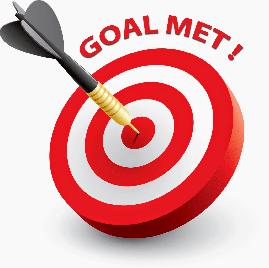 meet event fundraising goal